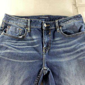 Vigoss Jeans - Vigoss  Jagger Skinny Blue Stretch Jeans